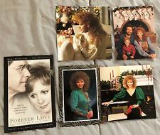 Reba McEntire ~ Lot of 5 Rare Genuine Used Christmas Postcards