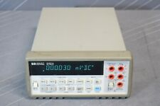 Hp 34401a Digital Multimeter 6 Digit