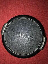 Genuine Canon FD C 58mm Snap-On Front Lens Cap 55 f1.2 135 f2.5