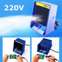 220V Portable FA400 Soldering Smoke Absorber Fume Smoking Sponge Air Filter