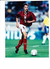 GARETH SOUTHGATE ASTON VILLA & ENGLAND 1997 PRESS PHOTO