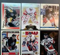 Dominik Hasek 6 Card Lot NHL Buffalo Sabres Detroit Red Wings