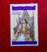 MAURITIUS 1977 SILVER JUBILEE QE11 POSTAGE STAMP 75c MINT HINGED