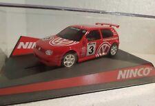 Qq 50247 Ninco Volkswagen golf red Racing #3