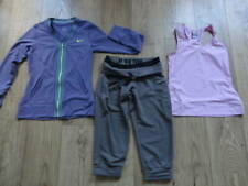 NIKE FIT DRY Gym,Fitness,Running Bundle-3 X TOPS & SHORTS SIZE XS-S/8-10 UK NEW
