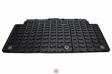 2007> Audi Q7 Pair Rear Rubber All-weather floor mats 4L0061511041