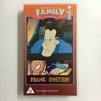 Frank Enstein. VHS Video Tape International Family Classics Cartoon Frankenstein