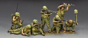 KING & COUNTRY VIETNAM WAR VN-S01 U.S. MARINE TET 68 SET MIB