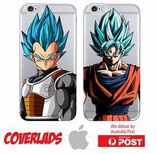 iPhone Silicone Cover Case Dragon Ball Super God SSJ Battle Anime - Coverlads