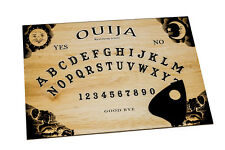 LARGE Wooden Ouija Board game & Planchette with Instruction. Spirit hunt Ghost