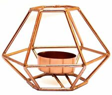 Copper Finish Handicraft Candle Stand For Home Decoration Candle Stand Decor
