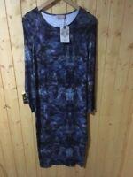 LABEL LAB BROOKLYN DISTIL Ladies Dress Size 16 Blue RRP £65