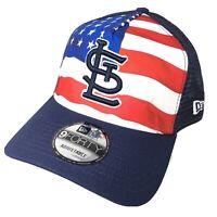 St. Louis Cardinals New Era 9Forty Strapback Hat Cap  Flag Logo Adjustable NWT