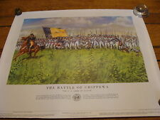 1960 Vintage Poster: History of the US Army: #3 THE BATTLE OF CHIPPEWA