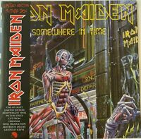 IRON MAIDEN, Somewhere in Time, PICTURE DISC, REMASTERED, UK IMPORT, OOP, SEALED