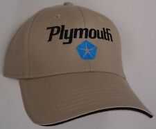 Hat Cap Licensed Plymouth Tan HR 232
