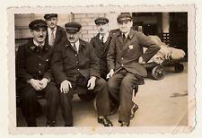snapshot photo vintage les postiers 1938