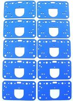 Holley Carb Metering Block Gasket Carburetor 108-89-10 QFT AED CCS 10 Pack G16
