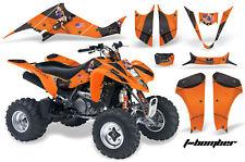 ATV Decal Graphic Kit Wrap For Suzuki LTZ400 Kawasaki KFX400 2003-2008 TBOMBER O