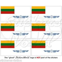 LITUANIE LITHUANIA LIETUVA Lituanien Vinyle Sticker Autocollant 100mm