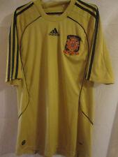 España 2008-2010 Away camiseta de fútbol Tamaño Grande / 24453