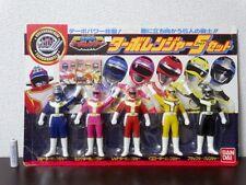 1989 Kousoku Sentai Turboranger Figure 5pcs Set BANDAI Power Rangers Doll