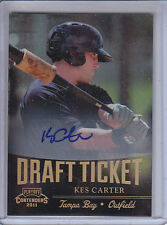 KES CARTER 2011 PLAYOFF CONTENDERS DRAFT TICKET AUTO