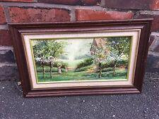 Fine Art P.J. Attfield Oil on Hardboard Painting Good Condition Vintage