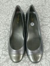 Cole Haan Air shoes women 8 M Pewter Wedge EUC