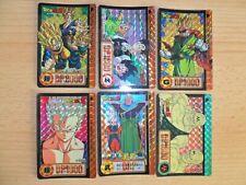 Dragon Ball Carddass Hondan Part 17 Prism Set 6/6 Card 1993 MADE IN JAPAN