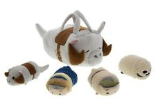 NEW Disney Star Wars Taun Taun Tsum Tsum Bag Set of 4