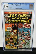 Sgt. Fury and His Howling Commandos #116 (1973) CGC Graded 9.6 Dick Ayers Marvel