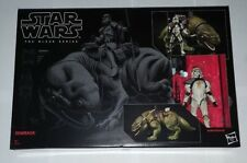 "STAR WARS BLACK SERIES DEWBACK + SANDTROOPER 6"" TOY + ACTION FIGURE #04 IN STOCK"