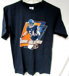 Chicago Bears Men Medium Screened Brian Urlacher #54 T-shirt C1 1147