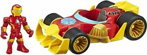 Hasbro Super Hero Adventure Figure & Vehicle IRON MAN Speedster Collectible Toy
