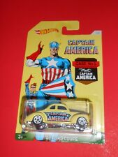 CAPTAIN AMERICA HOT WHEELS '40 FORD COUPE SHIPS FREE!