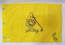 Authentic John Daly Signed Autographed Golf Pin Flag JSA LOA