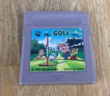 Golf-Nintendo Gameboy Cartucho De Juego-japonés DMG-Goa