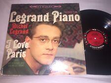 MICHEL LEGRAND - LEGRAND PIANO - I LOVE PARIS - COLUMBIA RECORDS STEREO LP