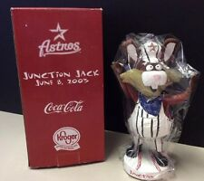 JUNCTION JACK MASCOT HOUSTON ASTROS 2003 KIDS ONLY SGA BOBBLE HEAD VERY RARE!!!!
