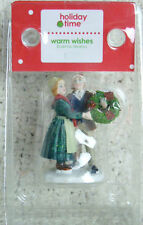 """""""Warm Wishes"""" Victorian Christmas Village Figurine by Holiday Time"""