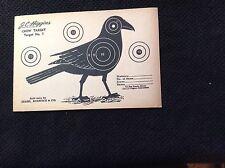 Vintage J C Higgins Crow Target # 7 Sold by Sears Roebuck Co