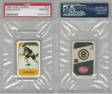 1982 Post Cereal Hockey, #14 Mike Gillis, Bruins, PSA 10 Gem