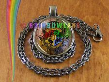 Harry Potter Hogwarts Necklace Pendant Jewelry Charm Gift
