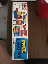 1985 Vintage Lego Promotional Toothpaste Crest Basic Building Set #1560 MIB