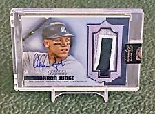 2019 Topps Dynasty AARON JUDGE  Auto 5/5 Game used  Yankees