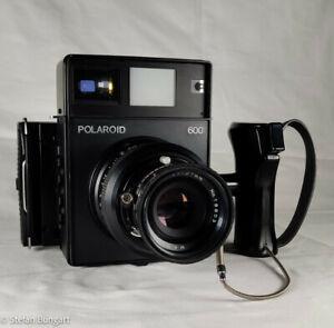 Polaroid 600 (wie 600SE Mamiya Press) mit Mamiya f=127 1:4.7 und Polaroid Back
