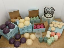 PartyLite Candle Lot of Assorted Votive, Aroma Melts & Tealights