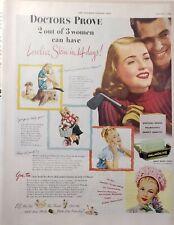 Lot 3 Vintage Palmolive Soap Print Ads Lovelier Skin Freda Meyer Palm Oils