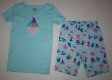 NEW Gymboree Gymmies Short PJs Ice Cream Sundae Pajamas Size 4 Year NWT Shorties